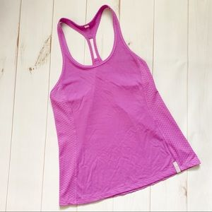 Under Armour Purple Racerback Tank Top